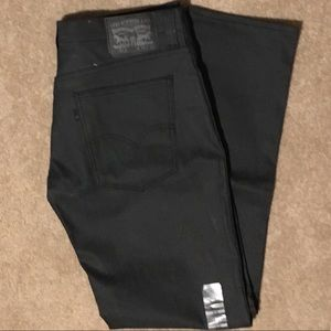 NWT Men's 511 Slim Fit Stretch Black Jeans